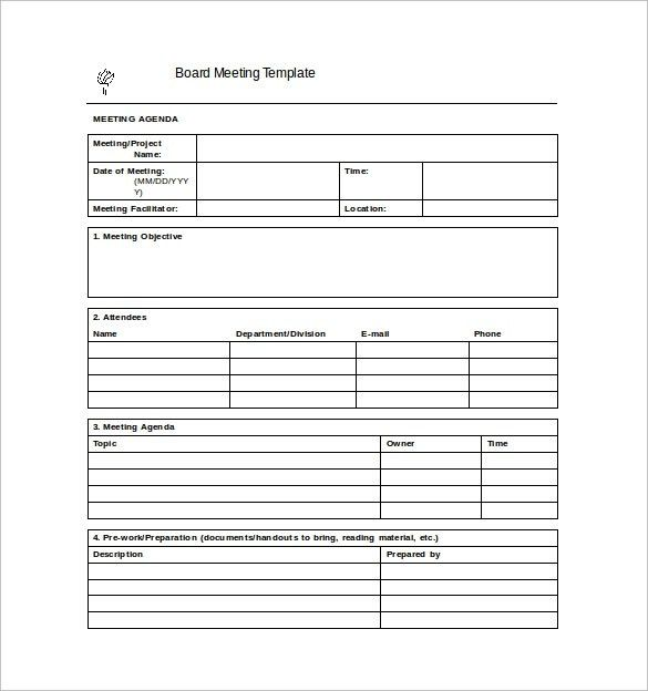 Meeting Minutes Template – 28+ Download Free Documents In Word ...