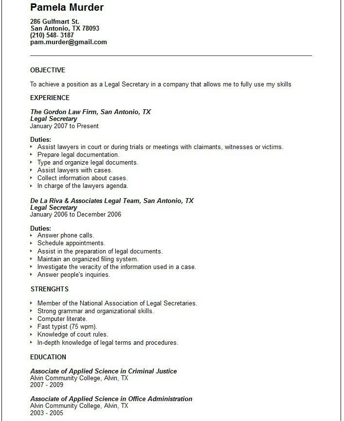 sample resume for public administration resume and letter job ...