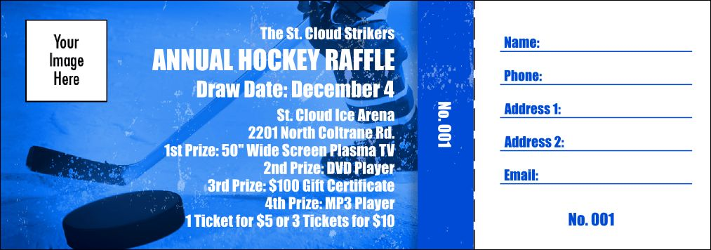 Fundraiser Raffle Ticket
