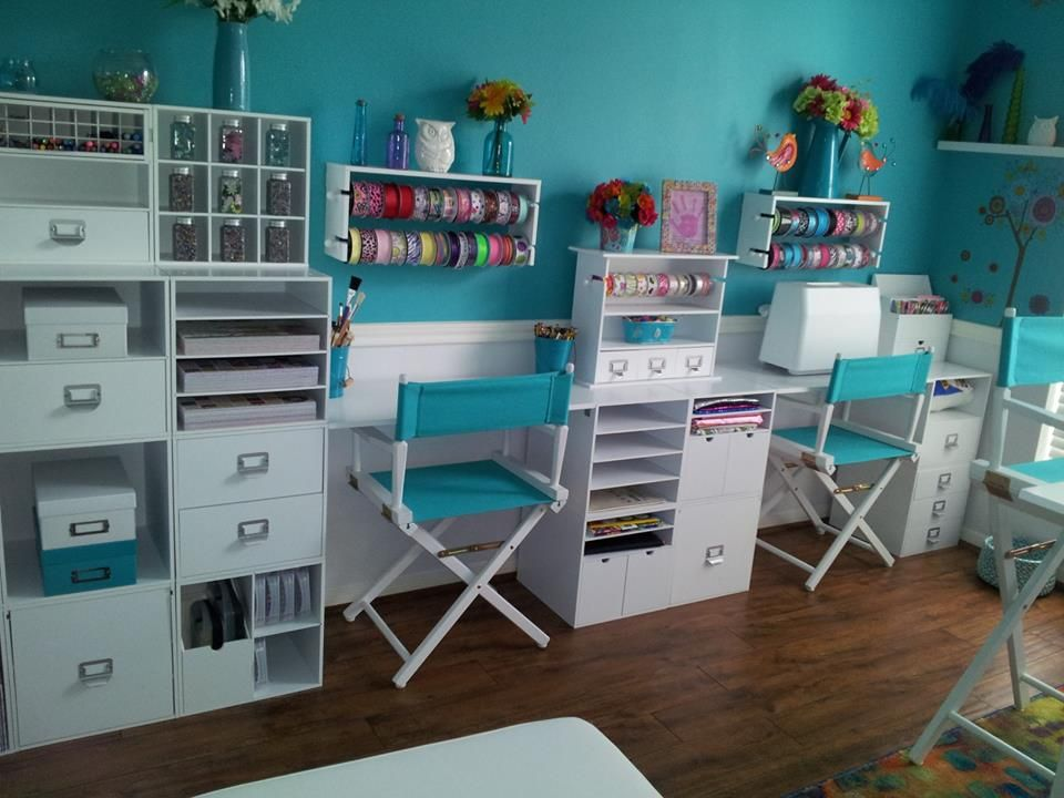 Craft Rooms And Storage On Pinterest Scrapbook Rooms