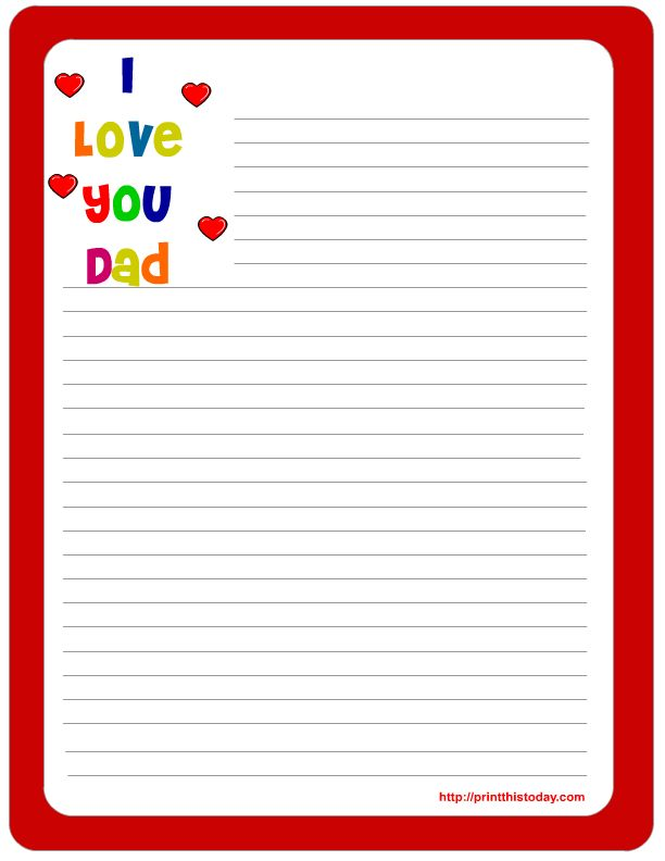 14 Best Images of Free Printable Love Letter Templates - printable ...