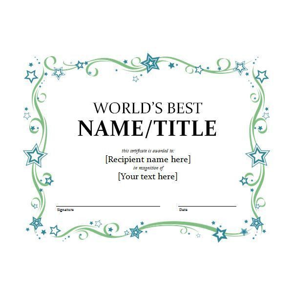 Certificate Borders For Word, blank vintage border certificates ...