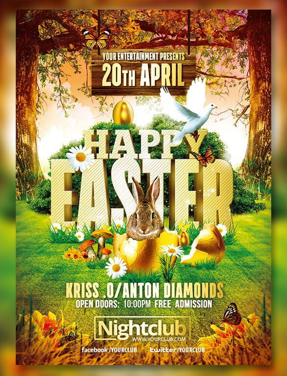 29+ Easter Flyer Templates – Free Sample, Example, Format Download ...