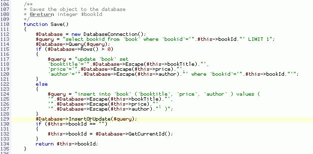 PHP Code Generator tutorials - Php Object Generator Blog: Using ...