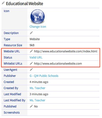 Adding a URL to a Whitelist – edredi