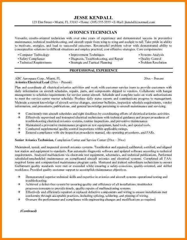 10+ cv for aircraft mechanic   inventory count sheet