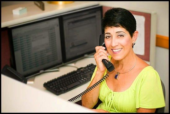 Working Portrait Photography, Receptionist, Front Desk, Answering Call