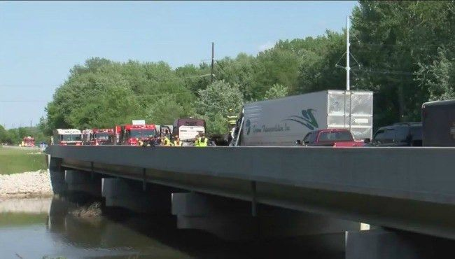 Jenison truck driver, 3 others killed in crash in Ind. | WOODTV.com