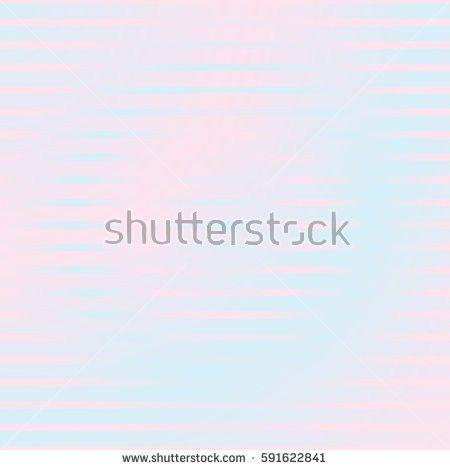 Narrow Horizontal Lines Symmetric Geometric Ornament Stock Vector ...