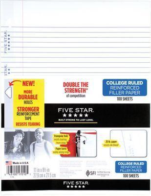 Filler Paper | Blank, Lined & Colored Filler Paper | Staples®
