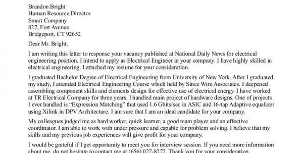 Mechanical Design Engineer Cover Letter Civil Engineering Cover ...