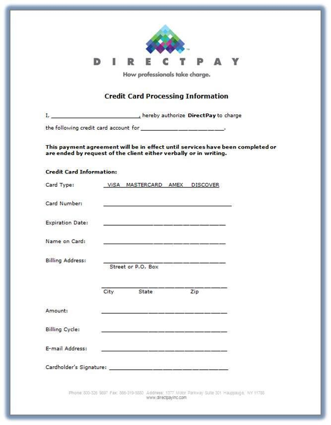 Merchant Forms | DirectPay