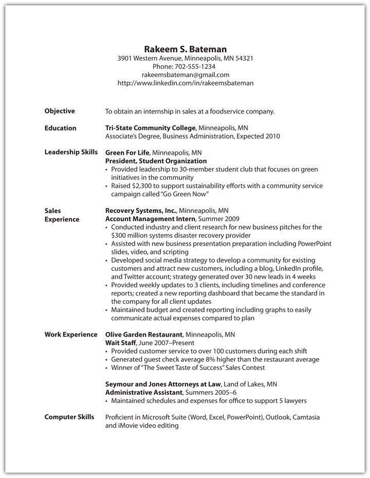 Resume Leadership Skills 4 Leadership Skills Resume Example Od ...