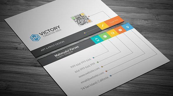 50+ Best Free PSD Business Card Templates