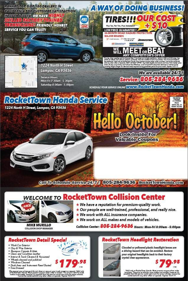 Service and Oil Change Coupon | Best Service Lompoc, CA