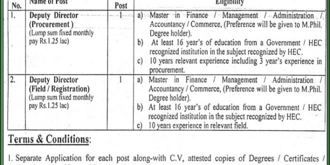 Procurement Director Jobs Punjab Curriculum and Textbook Board