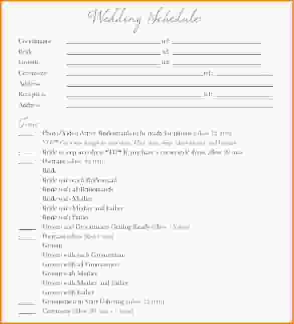 Event Itinerary Template. Photos Of Microsoft Schedule Template ...