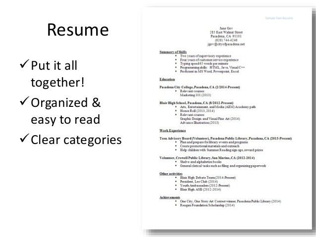 Download What To Put On A Resume | haadyaooverbayresort.com