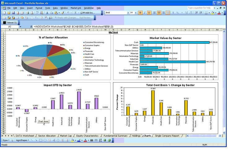 Excel Report Template | Free Business Template