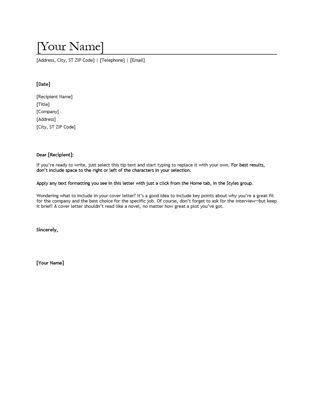 Best 25+ Letter sample ideas only on Pinterest   Letter format ...