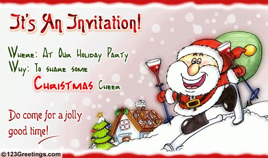 Christmas Party Invitations – gangcraft.net