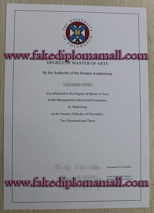 how can i trust to buy a fake University of Edinburgh degree ...