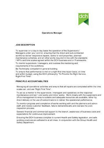 Delivery Driver Job Description. Spa Supervisor Job Description ...