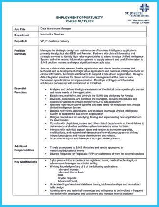 Data Management Analyst Cover Letter