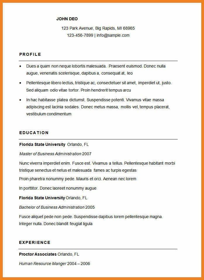 basic resume templates | teller resume sample
