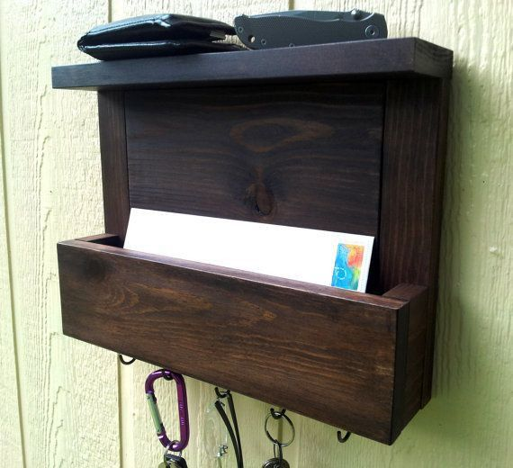 Best 10+ Mail and key holder ideas on Pinterest | Key rack, Wooden ...