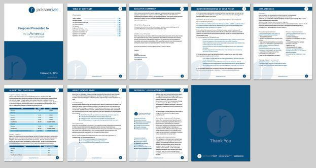 Business Proposal Template Microsoft Word : Selimtd