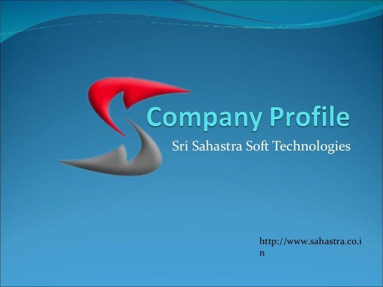 Company profile Of Sahastra Soft Technologies