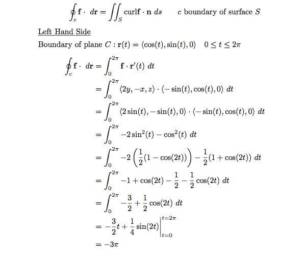 multivariable calculus - Verifying Stokes' Theorem - Mathematics ...