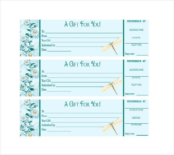 Business Gift Certificate Template – 11+ Free Word, PDF Documents ...