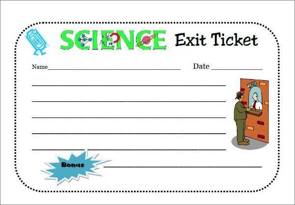 Exit Ticket   Smore