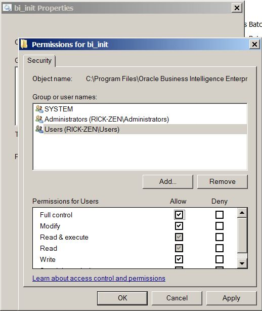 Fixing the Configuration Error in the Oracle BI (OBIEE ...
