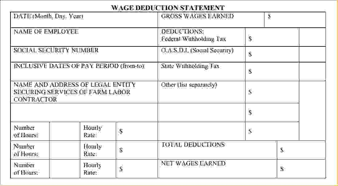 pay stub template excel sop proposal. blank pay stubs template ...