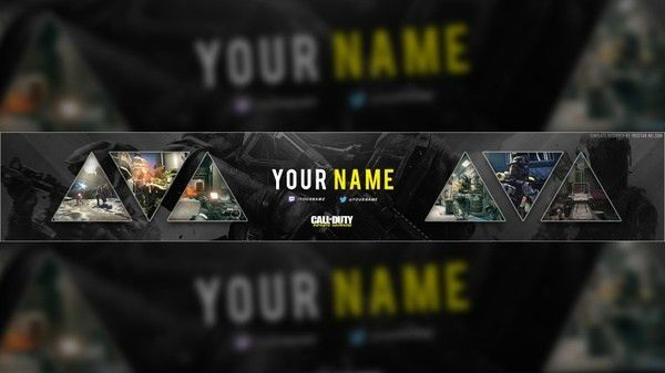 YouTube Banner Size Template | Tristan Nelson - Sellfy.com