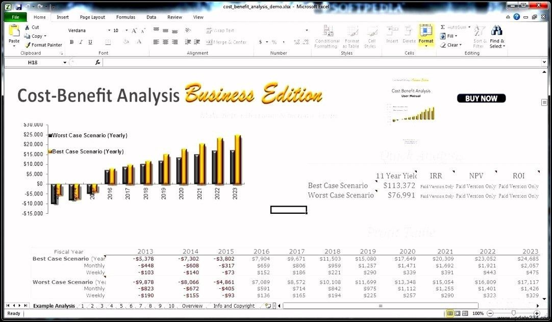 Cost Savings Analysis Template - Template Update234.com - Template ...