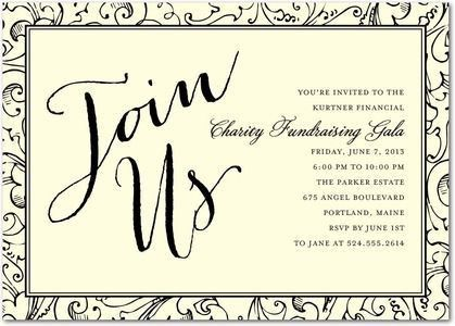 Sample Event Invitations - Template Examples