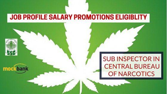 SSC CGL: Sub Inspector in Central Bureau of Narcotics Job ...