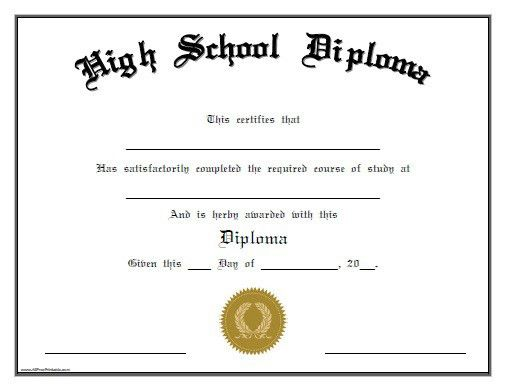 Free diploma Certificates | Certificate Templates