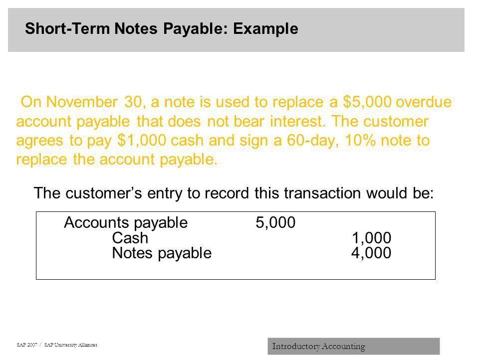 Note Payables, note payables templatebillybullock , amazing note ...