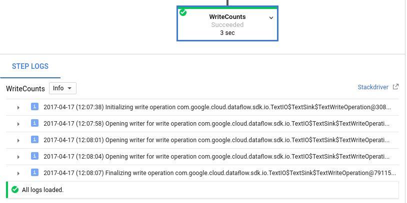 Logging Pipeline Messages | Cloud Dataflow Documentation | Google ...