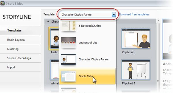 Using and Creating Templates - E-Learning Heroes