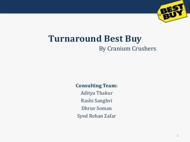 Best Buy Turnaround Strategy