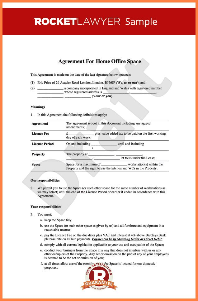 7+ sample lease agreement for office space | Purchase Agreement Group