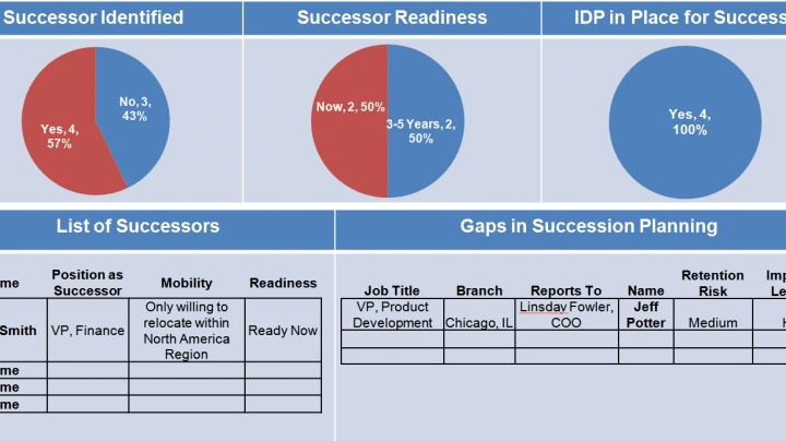 Talent Mobility Dashboard - Human Capital Institute