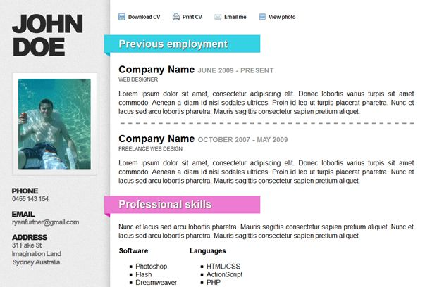 Best WordPress CV Resume Themes
