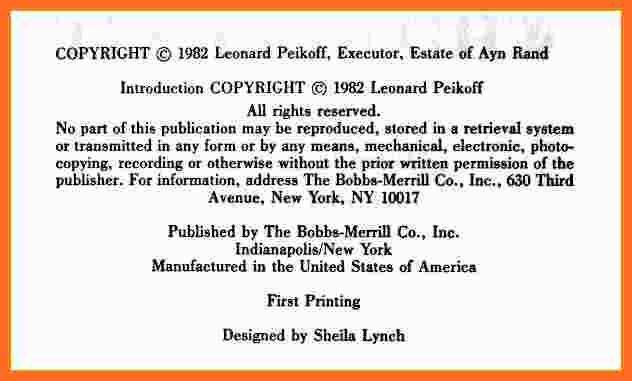 copyright notice format | soap format